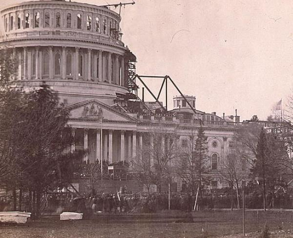 Lincoln First Inauguration