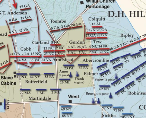 Battle of Malvern Hill - 6:30pm - 7:30pm - Landscape