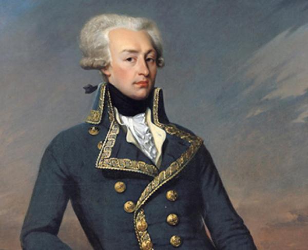 Portrait of Marquis de Lafayette