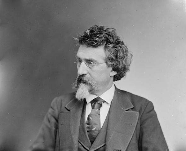 Portrait of Mathew Brady