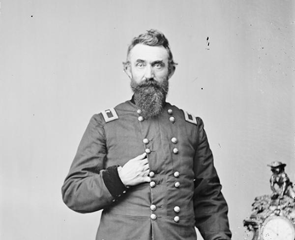 Portrait of Nathan Kimball