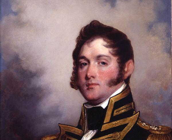 Portrait of Oliver Hazard Perry