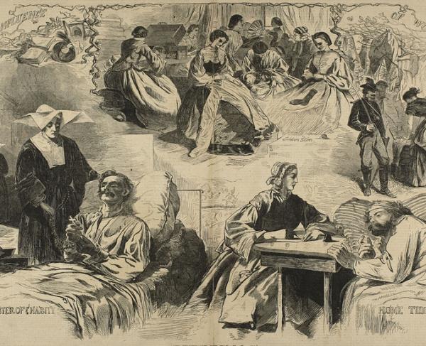 Civil War Women Work