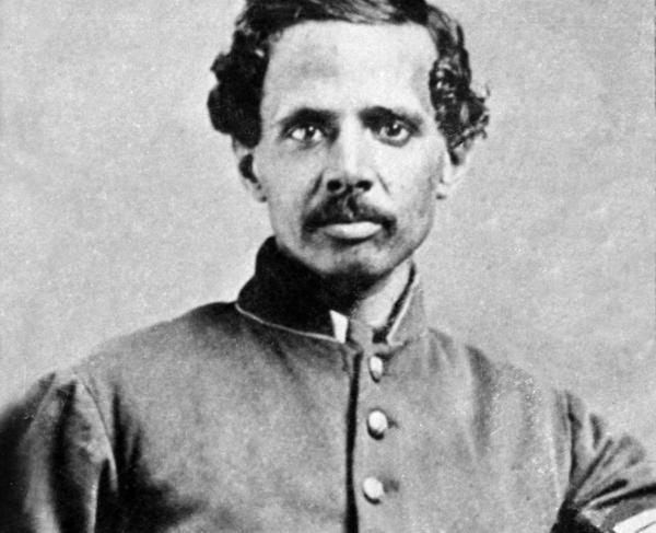 Du Bois, W. E. B. , Collector. Powhatan Beaty, half-length portrait, seated, facing front. , ca. 1900. Photograph.