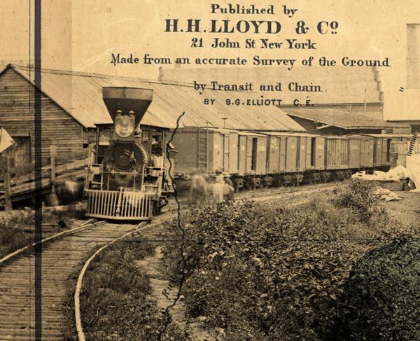 SG Elliott Railroad Swindler Montage