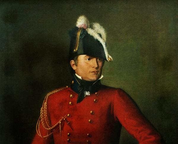 Portrait of Robert Ross