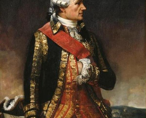 Portrait of Rochambeau