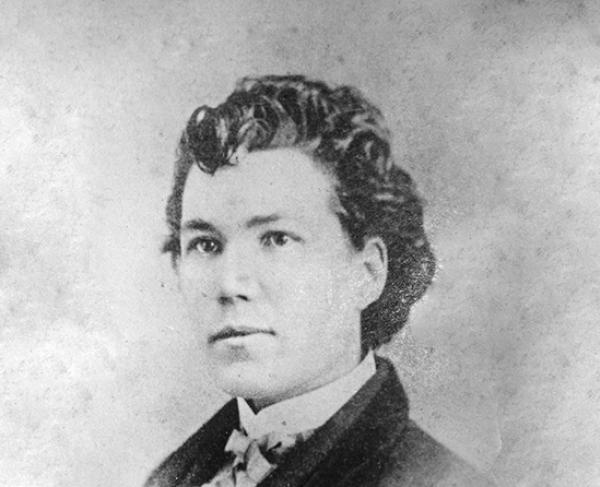 Portrait of Sarah Emma Edmonds