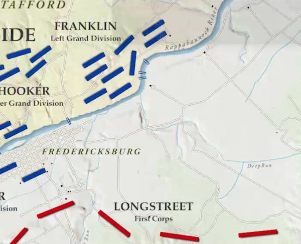 Fredericksburg Animated Map Landscape and Square