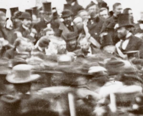 Lincoln's Gettysburg Address Square