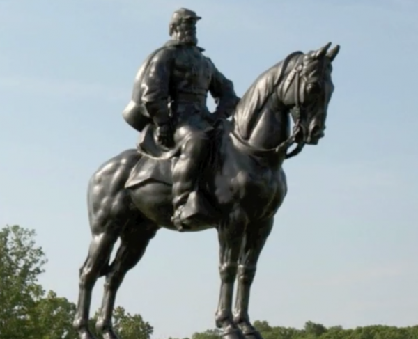 Stonewall Jackson at First Manassas Square