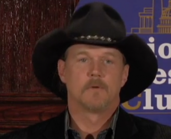 History Under Siege: Trace Adkins Landscape and Square