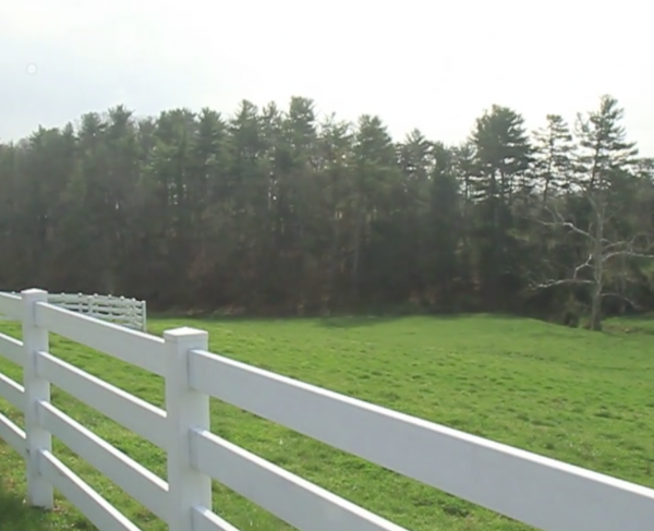 Battle of Cross Keys: The Widow Pence Farm landscape and square