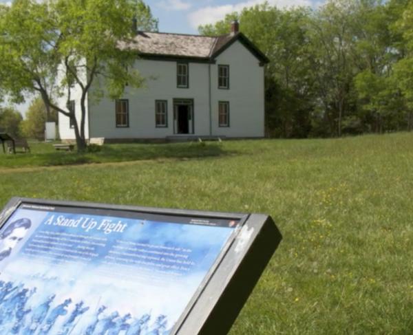 Second Manassas: Battle of Brawner's Farm landscape and square