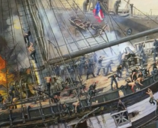Battle of Hampton Roads Video landscape and square