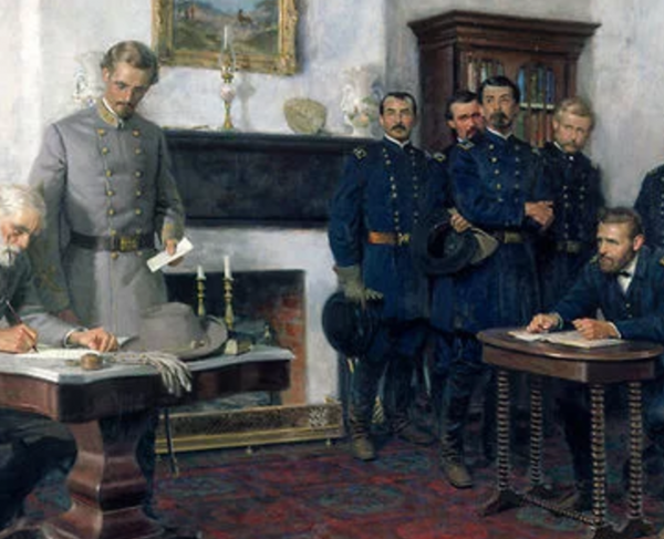 Appomattox: The Surrender landscape and square