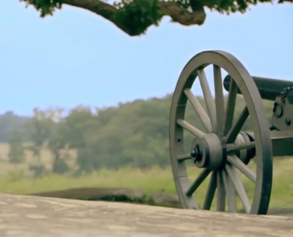 Gettysburg: Chamberlain's 1889 Address landscape and square