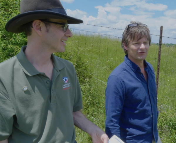 Walk the Perryville Battlefield with Actor Steve Zahn square