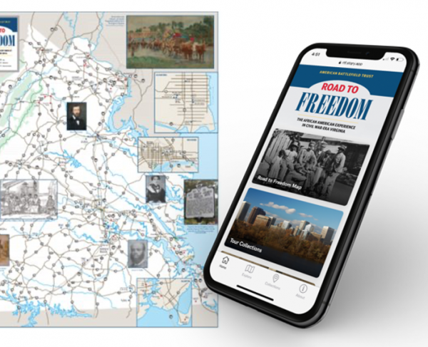 Road to Freedom Map and App