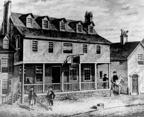 Tun Tavern in the Revolutionary War