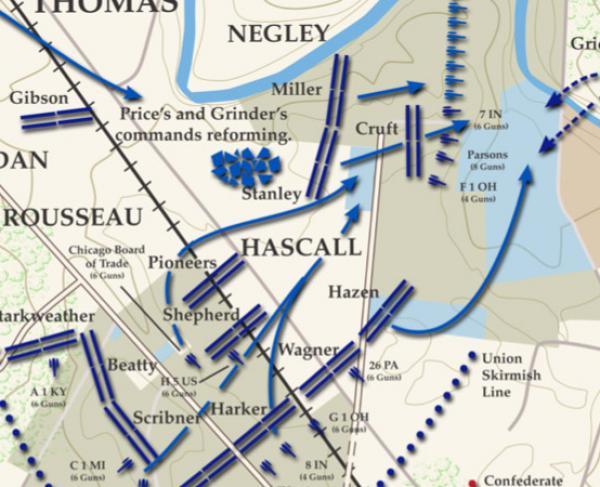 Stones River - January 2, 1863