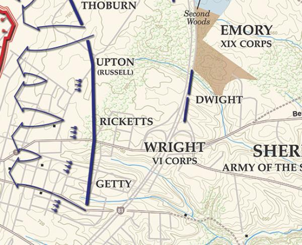 Third Winchester - September 19, 1864 - 5pm Landscape