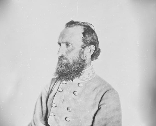 """Portrait of Thomas J. """"Stonewall"""" Jackson"""