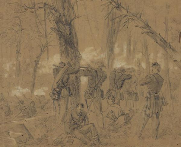 Waud - Kearny's Division