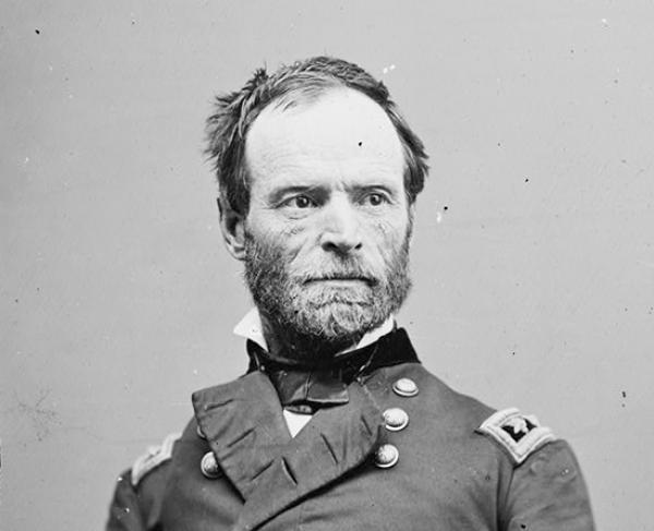Portrait of William T. Sherman