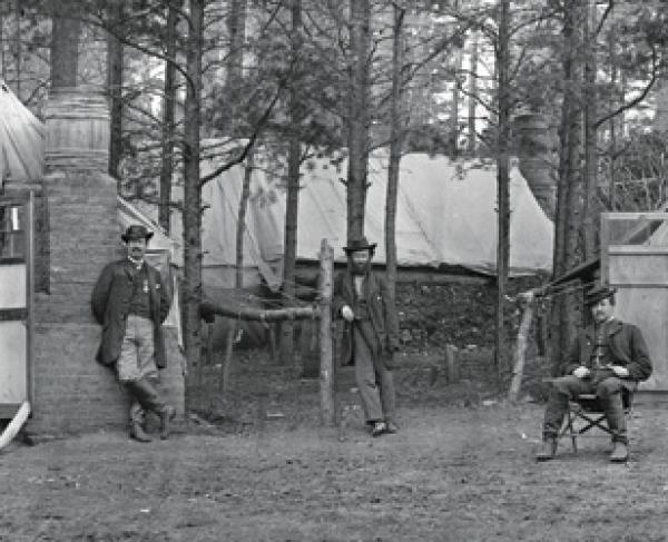 Brandy Station camp