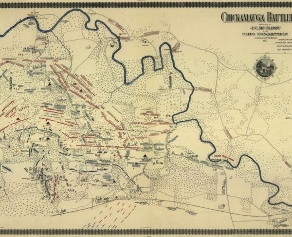 Chickamauga Battlefield - September 19-20, 1863