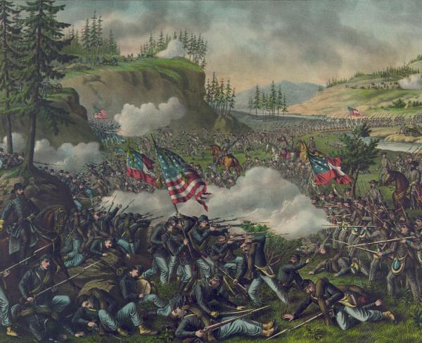 How well do you know the battle of chickamauga? Quiz landscape and square