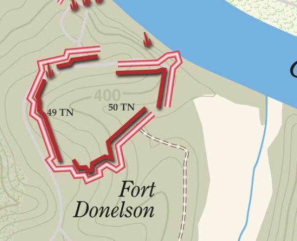 Fort Donelson Landscape Square