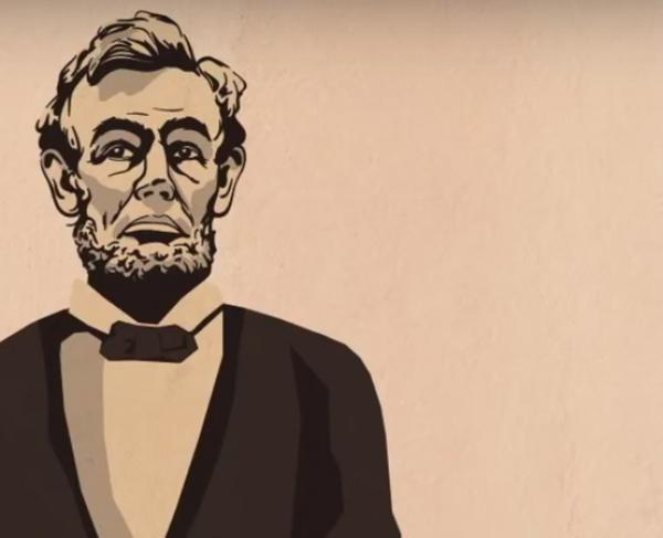 How Lincoln Changed the World in Two Minutes Landscape