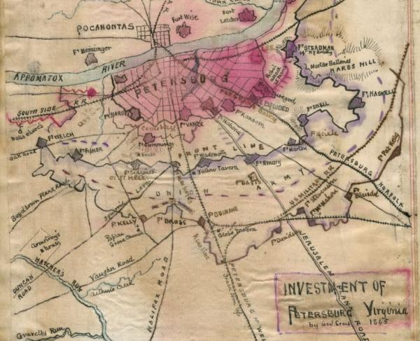 Investment of Petersburg by General Grant