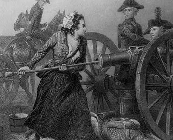 Portrait of Molly Pitcher
