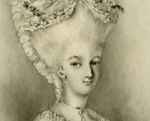 Portrait of Peggy Shippen