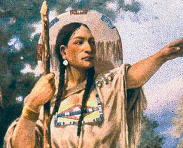 Portrait of Sacagawea