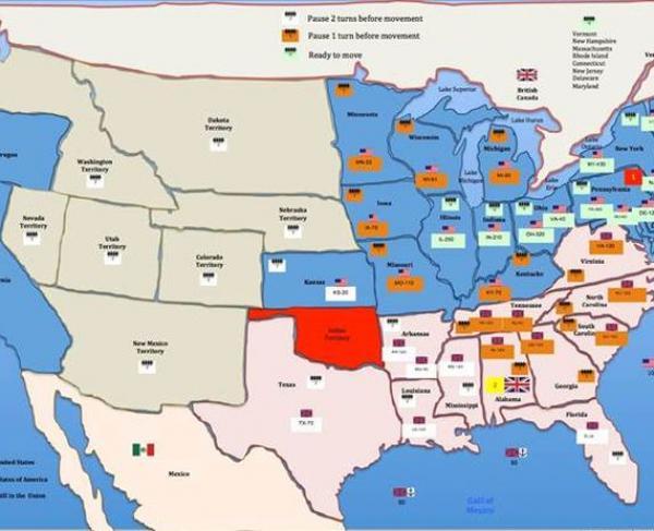 Simulation Map