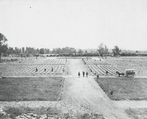 Stones River Cemetery in 1867