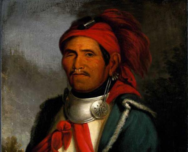 Portrait of Tenskwatawa