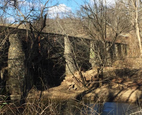 upperville goose creek bridge