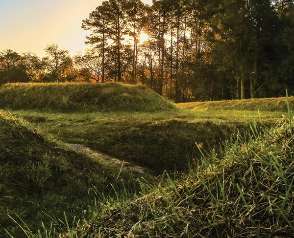 Yorktown Battlefield Sunrise Hero