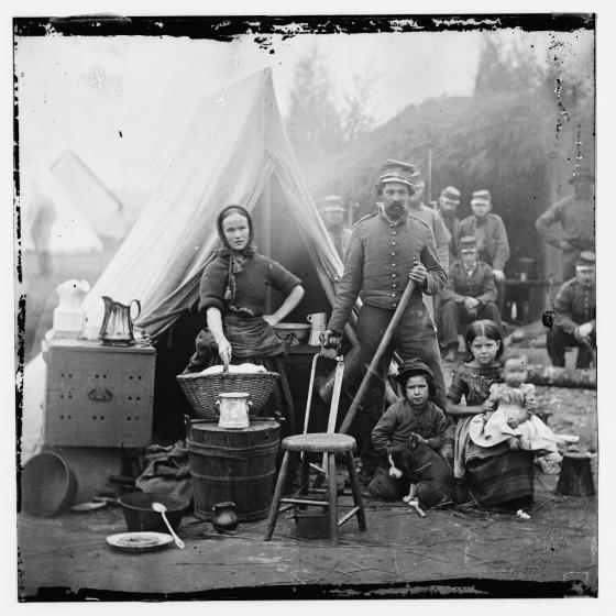 Tent life of the 31st Pennsylvania Regiment