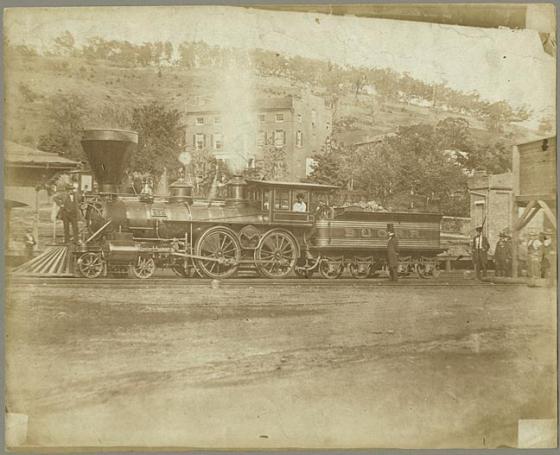 B&O Railroad Engine