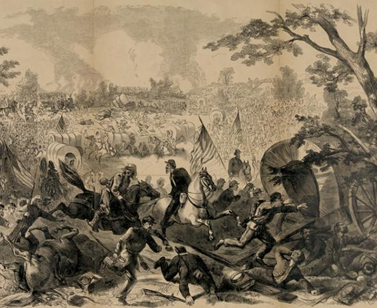 Civilians Retreat from Manassas