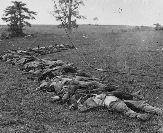 Dead Confederates at Antietam