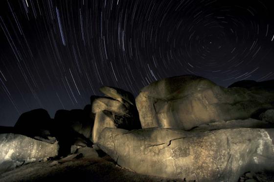 Stars Above Devil's Den