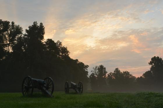 Gaines' Mill Battlefield. Photo by Matthew Huntley.