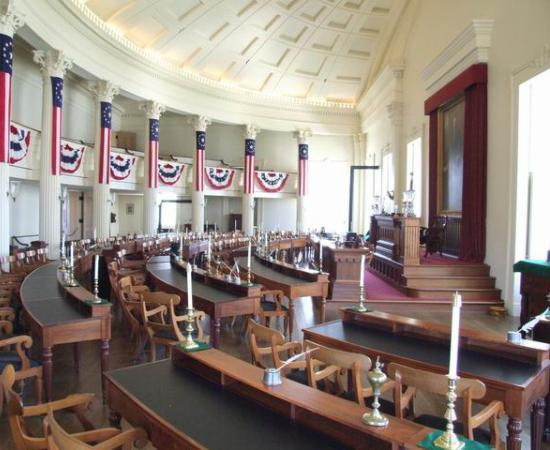 Old State Capitol Interior